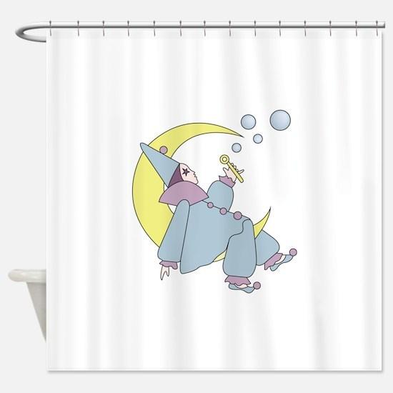 Harleguin Moon Shower Curtain