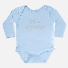 Unique Sudan Long Sleeve Infant Bodysuit