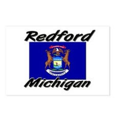 Redford Michigan Postcards (Package of 8)