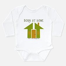 Funny Homebirth Long Sleeve Infant Bodysuit