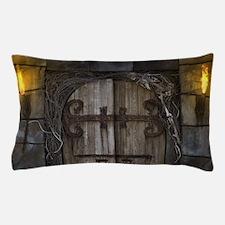 Gothic Spooky Door Pillow Case