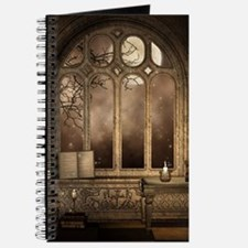 Gothic Library Window Journal