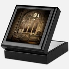 Gothic Library Window Keepsake Box