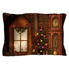 Old Christmas Pillow Case