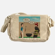 Dangerous Griller Messenger Bag