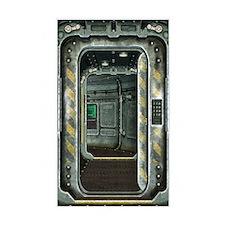 Space Ship Doorway Decal