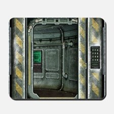 Space Ship Doorway Mousepad