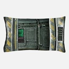 Space Ship Doorway Pillow Case