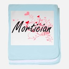 Mortician Artistic Job Design with He baby blanket