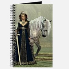 Medieval Lady and Horse Journal