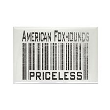 American Foxhound Dog Owner L Rectangle Magnet (10