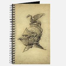 Knight Fantasy Grunge Journal