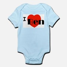 I Love Ben Infant Bodysuit