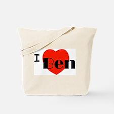 I Love Ben Tote Bag