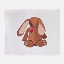 Velveteen Rabbit Throw Blanket