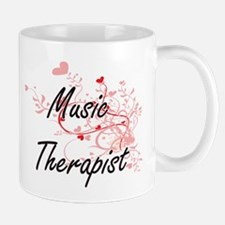 Music Therapist Artistic Job Design with Hear Mugs