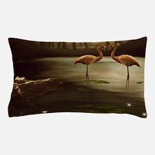 Magic Flamingos Pillow Case