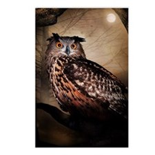 Halloween Owl Postcards (Package of 8)