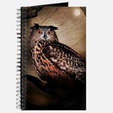Halloween Owl Journal