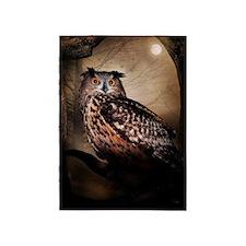 Halloween Owl 5'x7'Area Rug