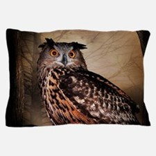 Halloween Owl Pillow Case