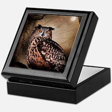 Halloween Owl Keepsake Box