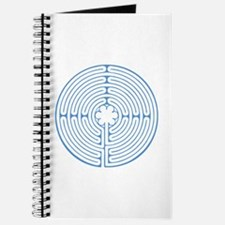 Blue Chartres Labyrinth Journal