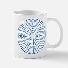 Blue Chartres Labyrinth Mug