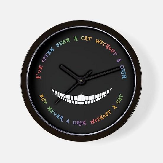 Cheshire Grin III Wall Clock
