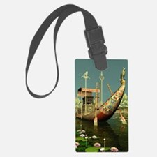 Ancient Egyptian Barge Luggage Tag