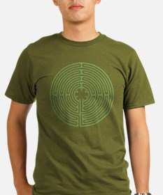 Green Chartres Labyri T-Shirt
