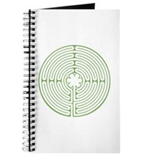 Green Chartres Labyrinth Journal