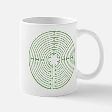 Green Chartres Labyrinth Mug