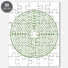 Green Chartres Labyrinth Puzzle