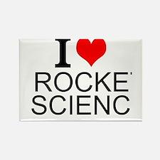 I Love Rocket Science Magnets