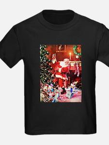 Santa Claus Decorates the Chirst T