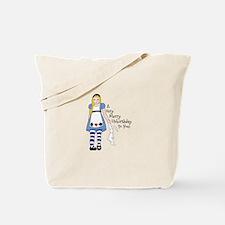 Very Merry Unbirthday Tote Bag