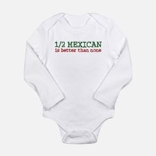 Unique Latino Long Sleeve Infant Bodysuit