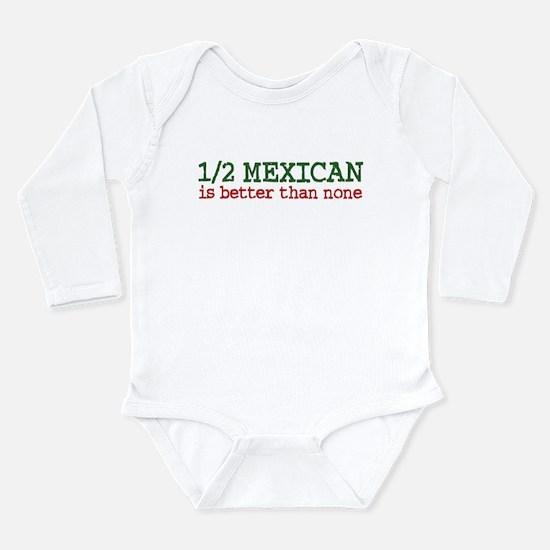 Cute Latina Long Sleeve Infant Bodysuit