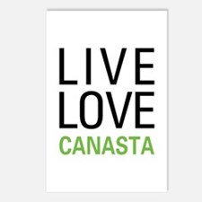 Live Love Canasta Postcards (Package of 8)