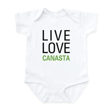 Live Love Canasta Infant Bodysuit