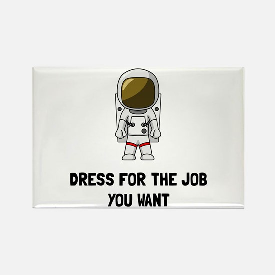 Cute Spacesuit Rectangle Magnet