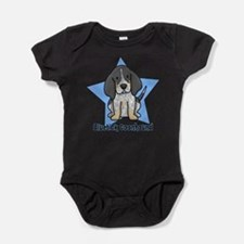 Unique Blue star Baby Bodysuit