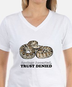 Apology Accepted, Trust Denied T-Shirt