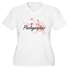 Photographer Artistic Job Design Plus Size T-Shirt