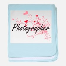 Photographer Artistic Job Design with baby blanket
