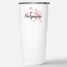 Photographer Artistic J Stainless Steel Travel Mug