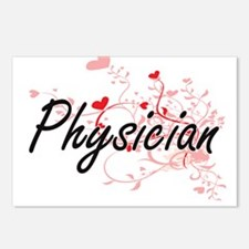Physician Artistic Job De Postcards (Package of 8)