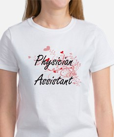 Physician Assistant Artistic Job Design wi T-Shirt