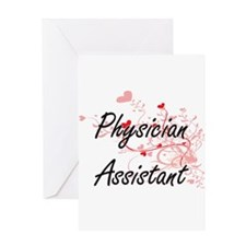 Physician Assistant Artistic Job De Greeting Cards